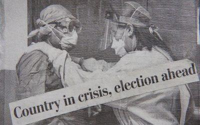 Pandemic Postcard