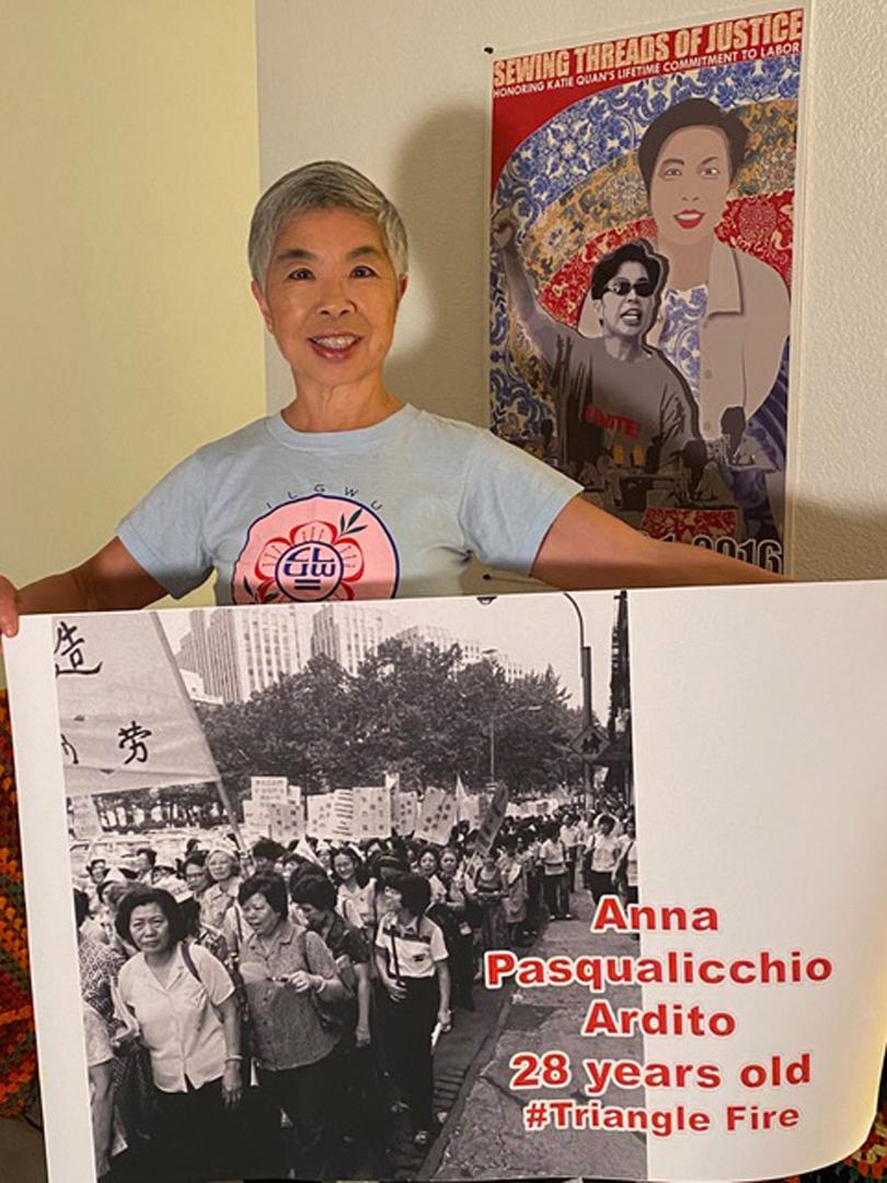 Katie Quan, Former ILGWU Organizer