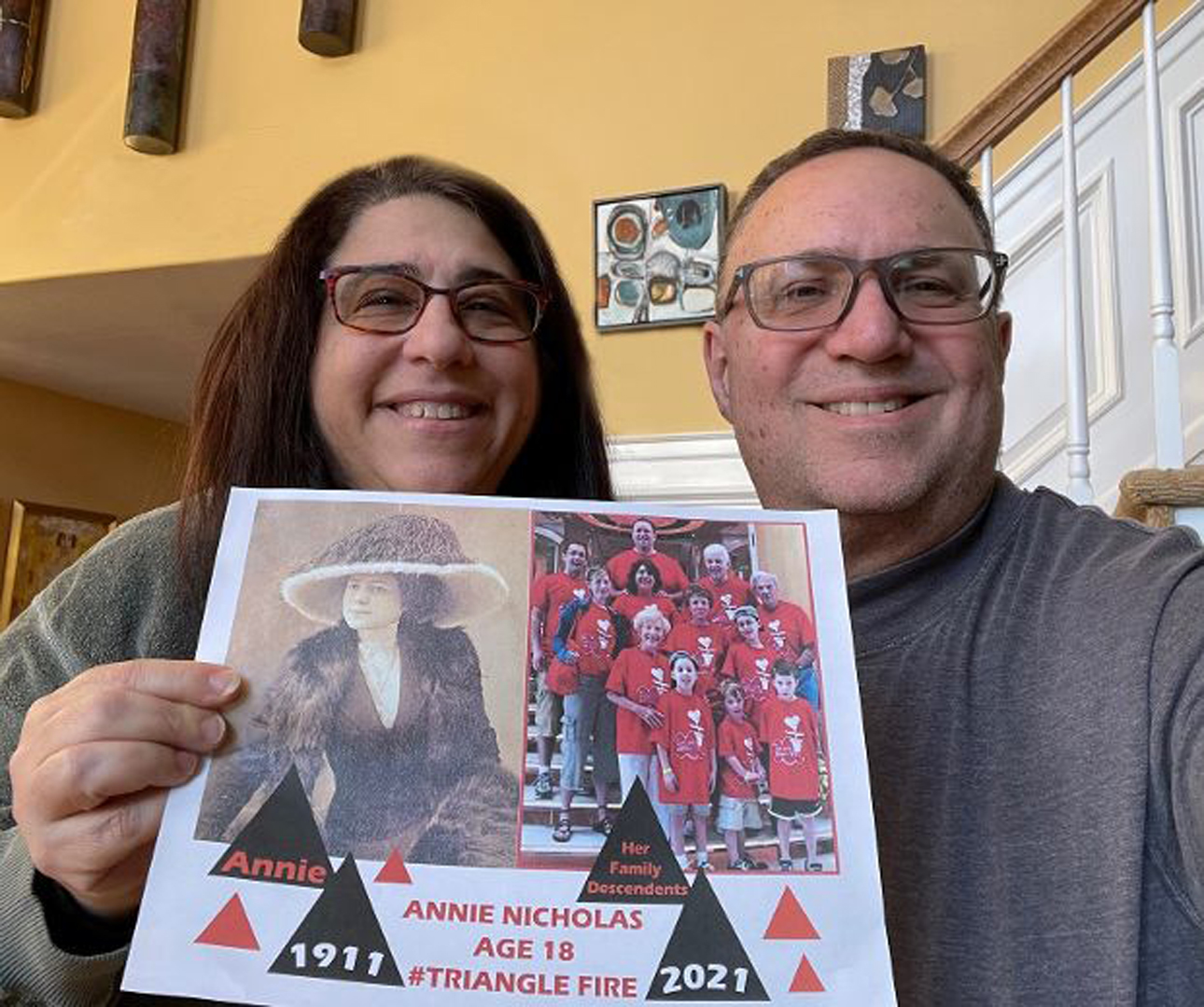 Debbie & Mark Wells, Triangle Family