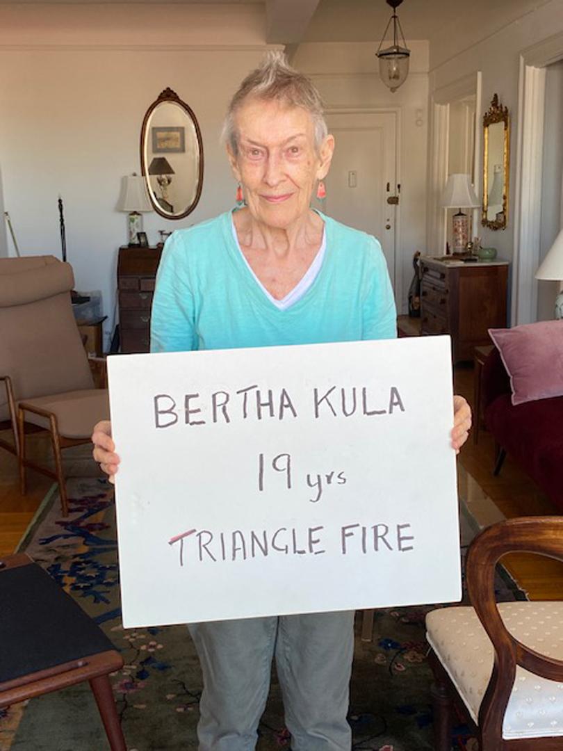 Doreen Wohl, Lifelong Activist, Clara Lemlich Awardee