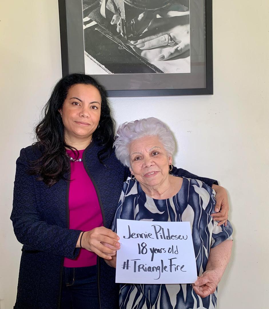 Analilia Mejia Deputy Director, Women's Bureau, US Dept of Labor & Luz Mejia ILGWU Retiree