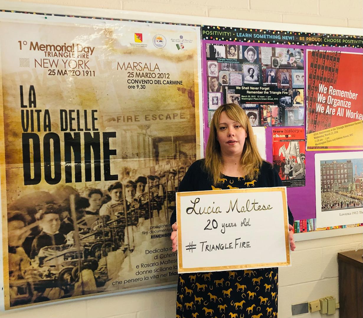Kimberly Schiller, Teacher, for Lucia Maltese