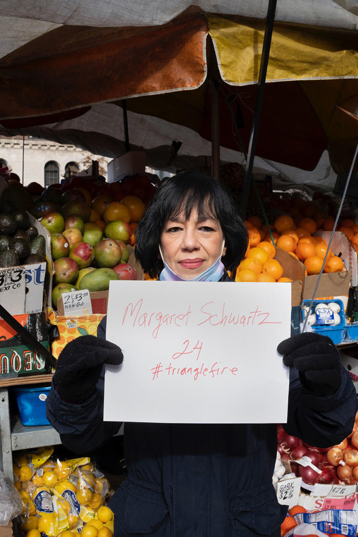 Josie Perez, Fruit and Vegetable Vendor, for Margaret Schwartz