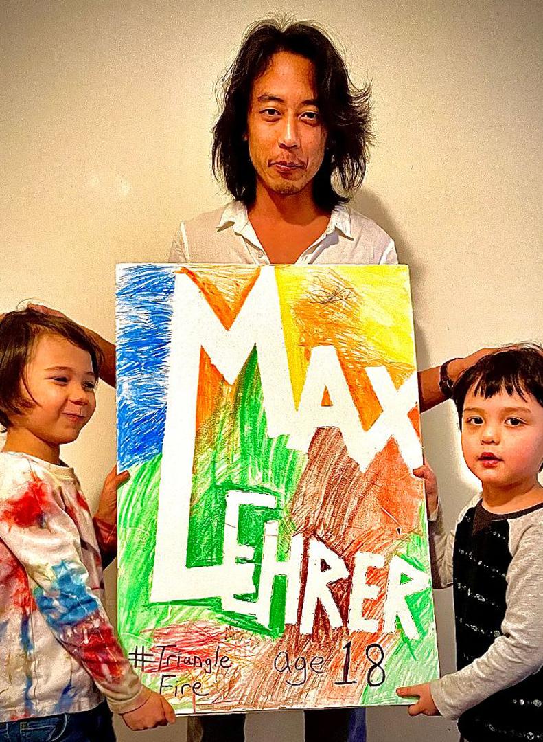 Richard Joon Yoo, Triangle Fire Memorial Co-Designer & sons Lev & Jonah