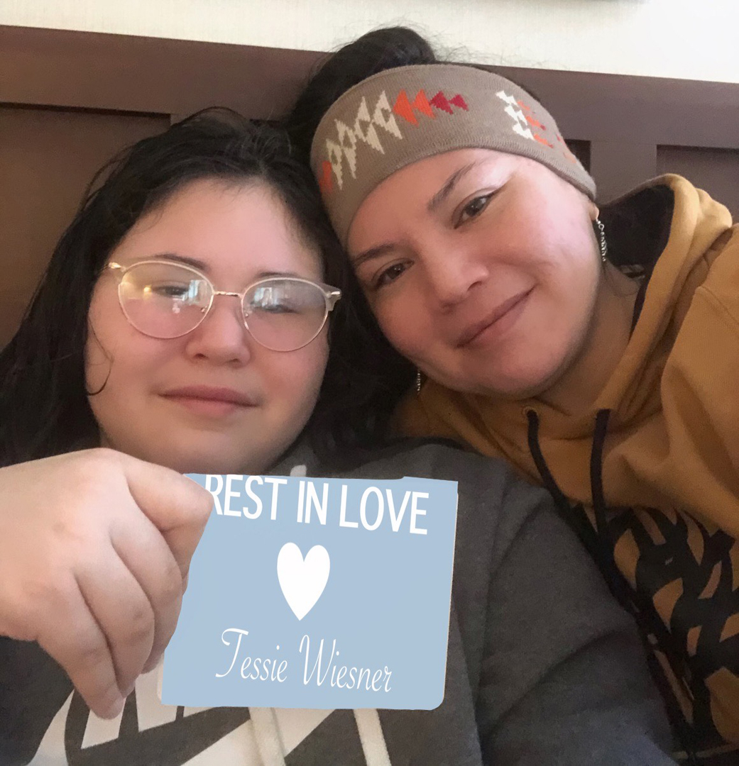 Jonel Beauvais & daughter Milany Oakes, Akwesasne Mohawk Nation