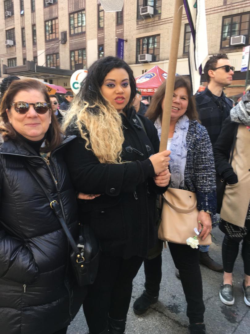 Michele and Pamela Esterman, Triangle Family